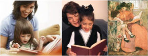 Reading with your child helps them to become a lifelong reader.